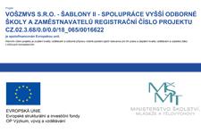 VOŠZMVS s.r.o. - ŠABLONY II - spolupráce vyšší odborné školy a zaměstnavatelů